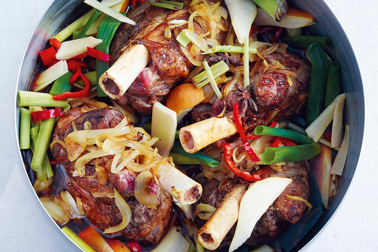 recipes soy braised lamb shanks soy braised lamb shanks